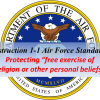 New Air Force Standards Protect Nonreligious Personal Beliefs
