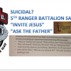 Ranger Suicide Prevention Becomes Christian Sermon