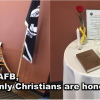 Creech AFB Advocates Christian-only POW Table