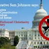 Sam Johnson Talks Change but Legislates Status Quo
