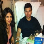 wounded warrior Oscar Zavala, recovering at the old Walter Reed VA Medical Center