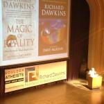 Dr Dawkins presenting at CU Boulder