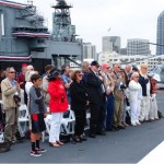 Memorial Day event on the USS Midway