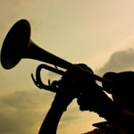 trumpet_player_silhouette