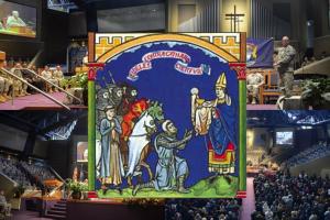 MI ARNG church