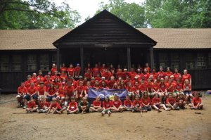 As a counselor at Camp Quest Chesapeake in 2012